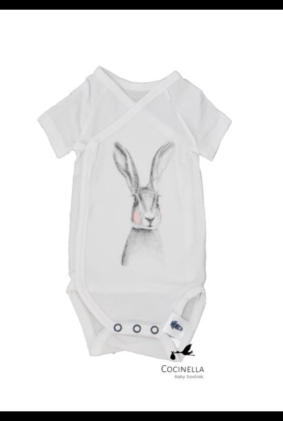 Romper Tencel rabbit 1M
