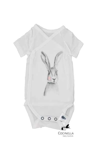 Romper Tencel rabbit 3M