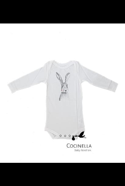 Romper Tencel rabbit 9M