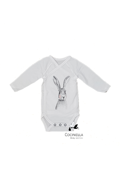 Romper Tencel rabbit 6M