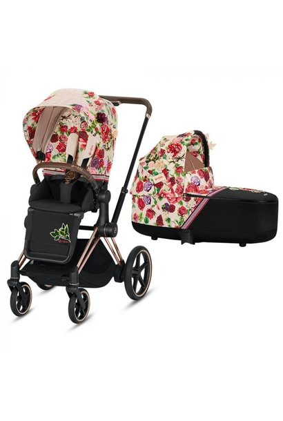 Kinderwagen  Priam spring blossom light