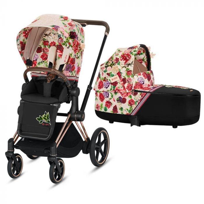 Kinderwagen Cybex Priam spring blossom light-1
