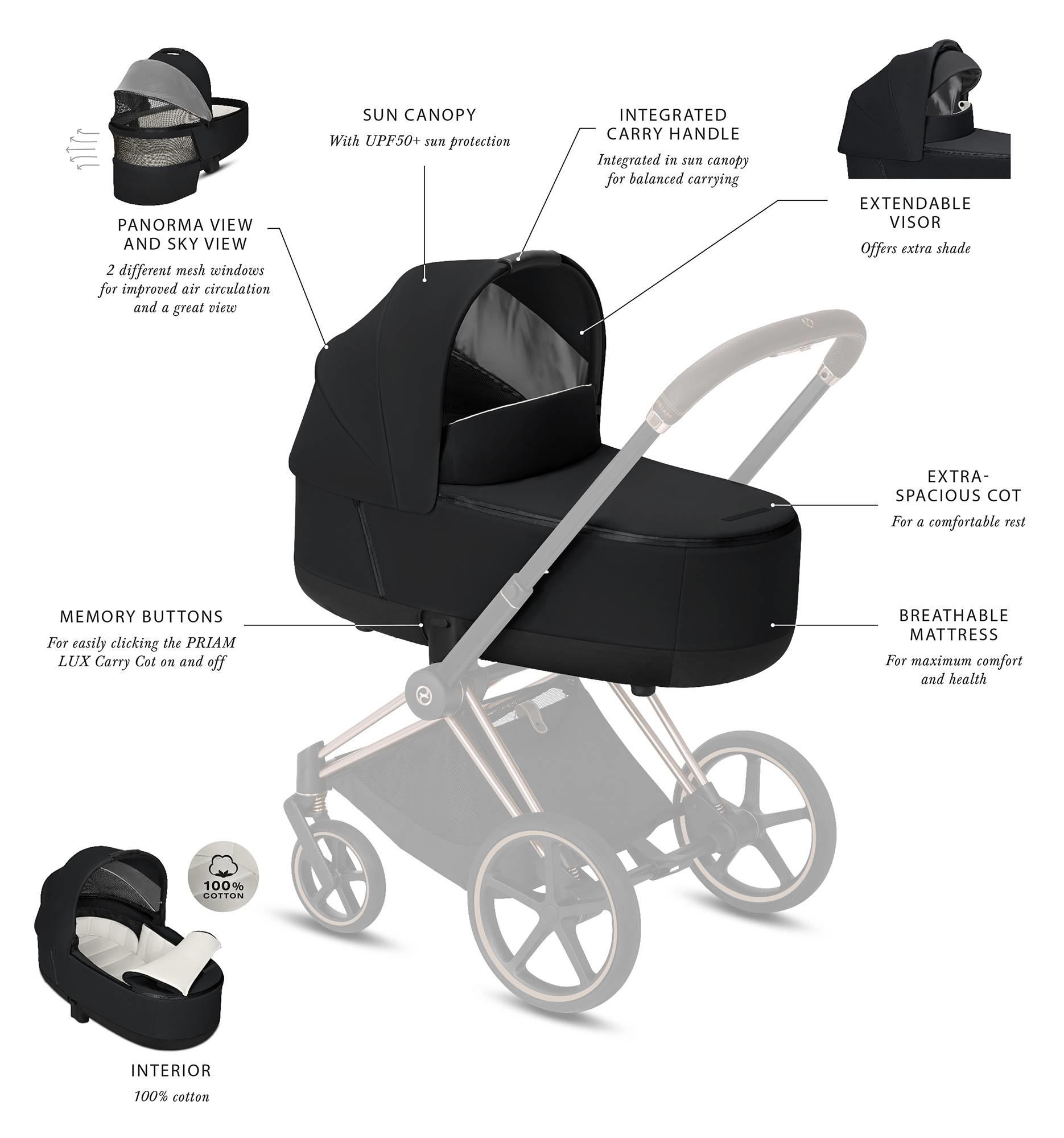 Kinderwagen Cybex Priam koi-8