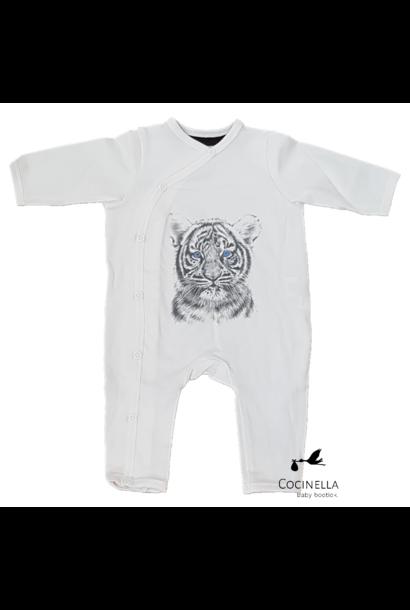 Pajamas Tencel Tiger 6-9M