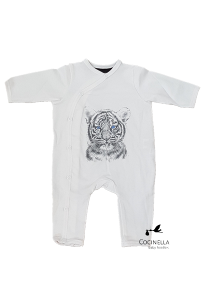 Pyjama Tencel Tijger 6-9M