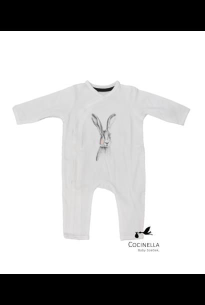 Pyjama Tencel Konijn 6-9M