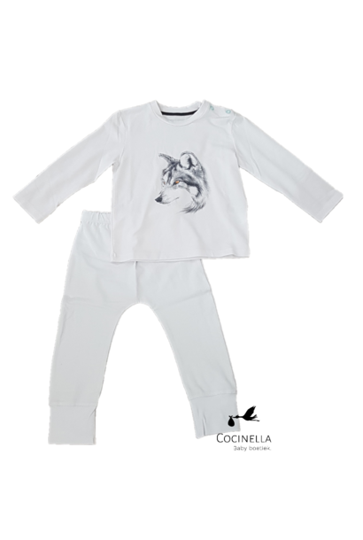 Pyjama Tencel Wolf 18M-2J