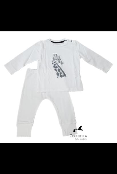 Pajamas Tencel Giraffe 12-18M