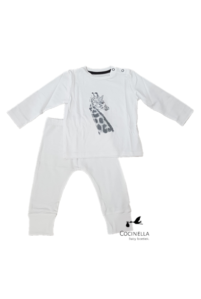 Pajamas Tencel Giraffe 18M-2Y