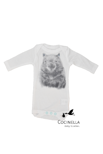 Romper Tencel Wombat 1Y