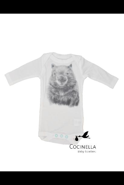 Strampler Tencel Wombat 3M