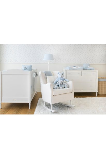 Bed 70x140cm + Chest of drawers  Louis