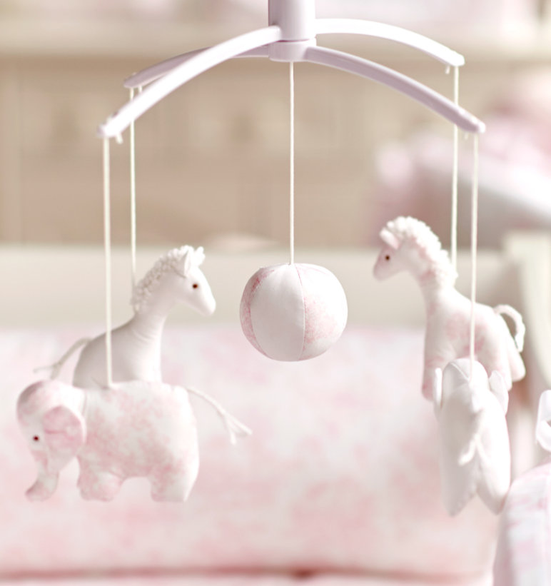 Muziekmobiel Sweet Pink  Theophile & Patachou-2