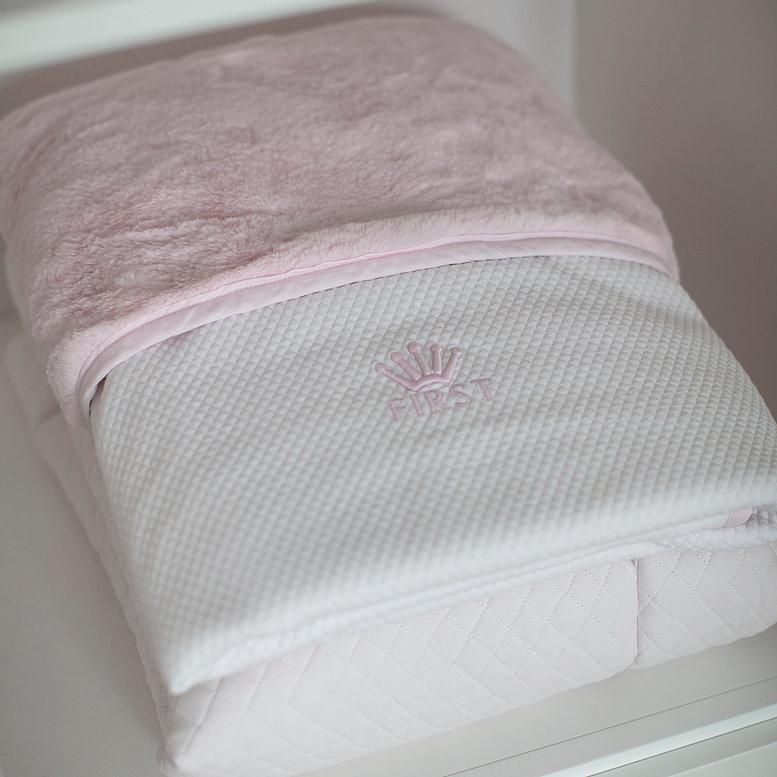 Deken 68x95cm  First Pretty pink-2