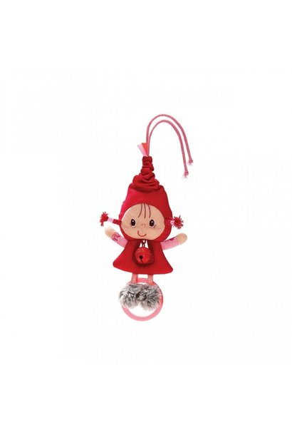 Rattle with bell Little Red Riding Hood