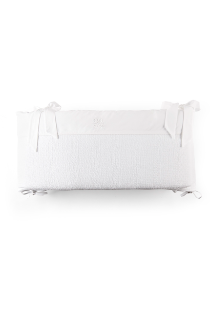 Bedomranding  70cm Cotton white