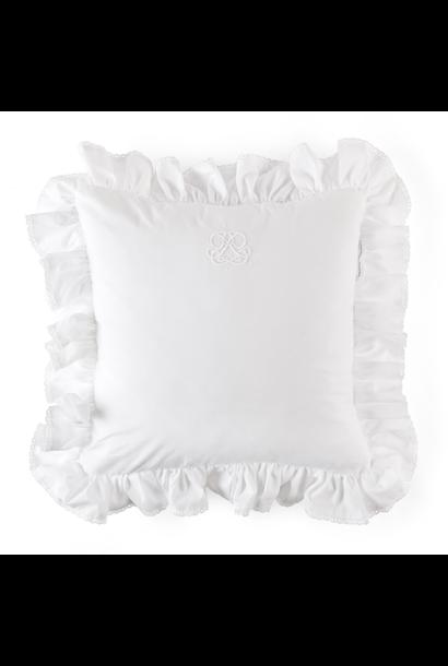 Kussen Cotton white