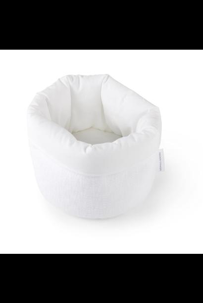 Pflegekorb Cotton white