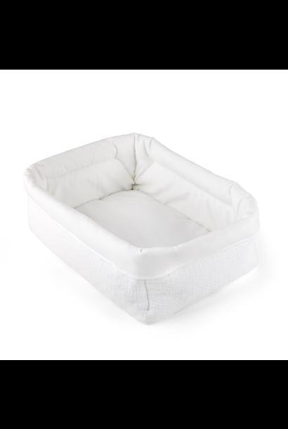 Care basket Cotton white