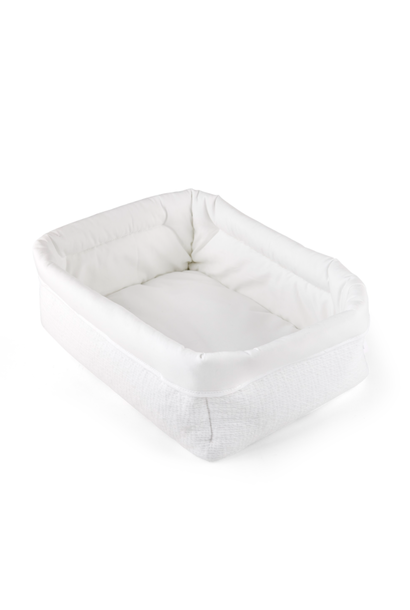 Verzorgingsmand  Cotton white