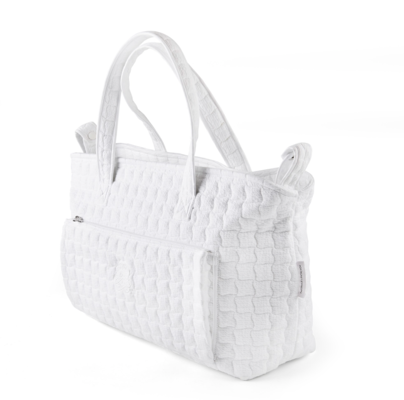 Kindertasche Cotton white Theophile & Patachou-2