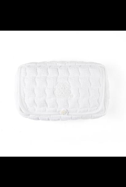 Feuchttücher bedecken Cotton white