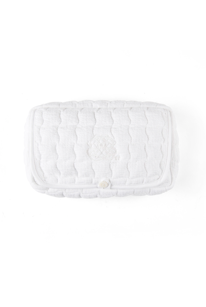 Wet wipes cover Cotton white