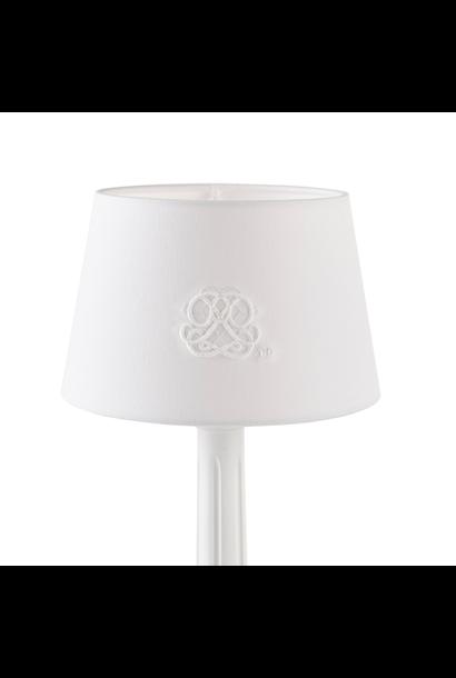 Small lampshade Cotton white