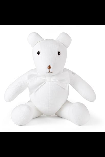 Teddy design Cotton white