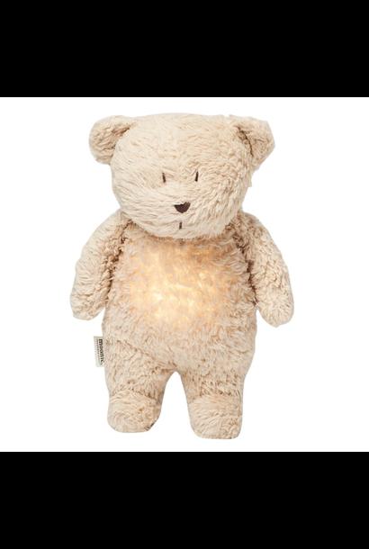 Knuffel beer met licht en geluid