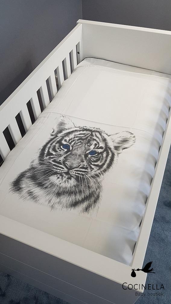 Bettbezug Bett Tencel Tiger-2