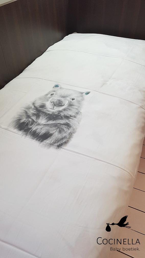 Bettbezug Bett 1 Person Tencel wombat-2