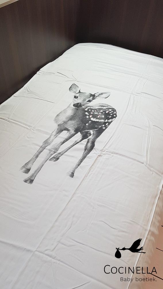 Donsovertrek bed 1 persoon Tencel  bambi-2