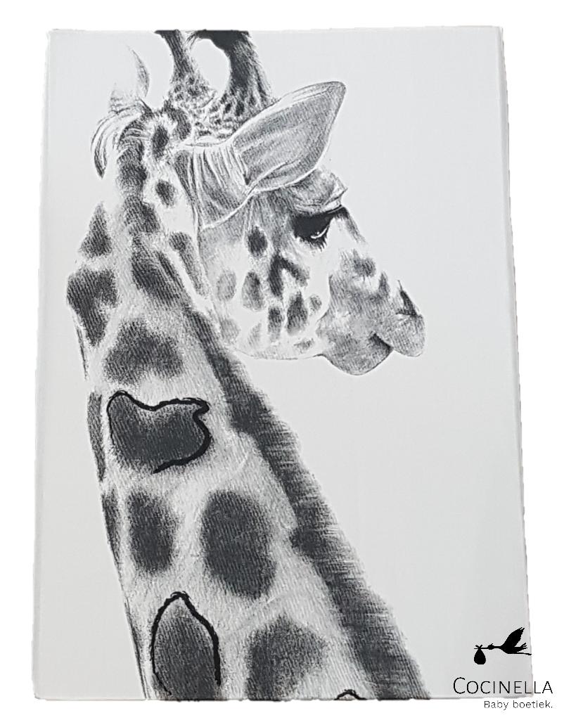 Donsovertrek bed 1 persoon Tencel  giraf-1