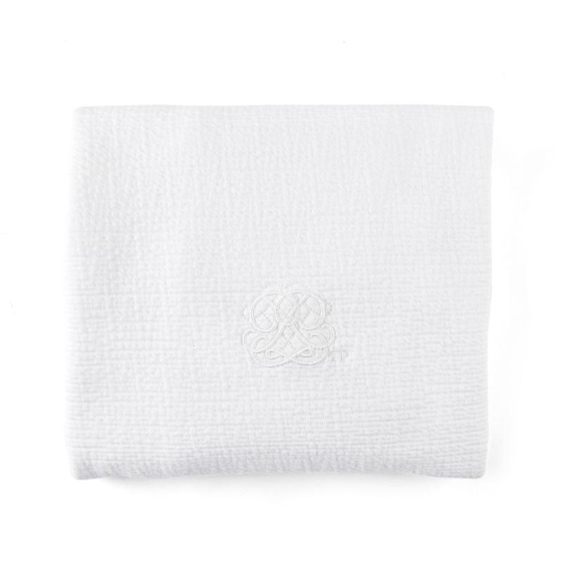 Deken 68x80cm Cotton white  Theophile & Patachou-1