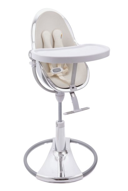 Dining chair Bloom Fresco Silver + coconut white