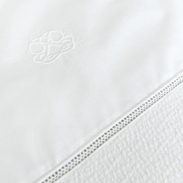 Donsovertrek bed met sloop  Cotton White  Theophile & Patachou-2