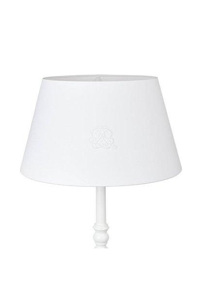 Big lampshade  Cotton white