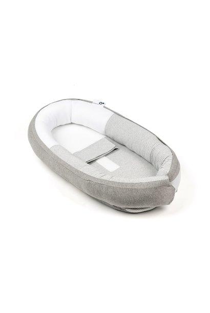 Babyschlafnest Classic grey