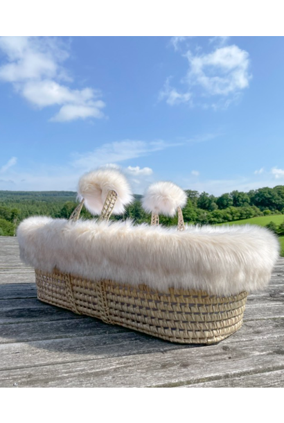 Wicker moises and cover