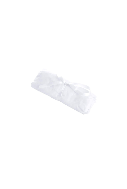 Fitted sheet 76x32cm Cotton white