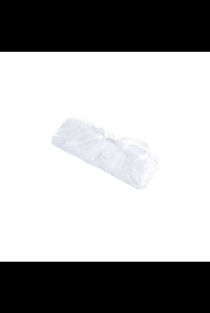 Hoeslaken 76x32cm Cotton white