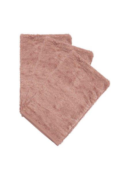 Washcloths per 3 Mellow mauve