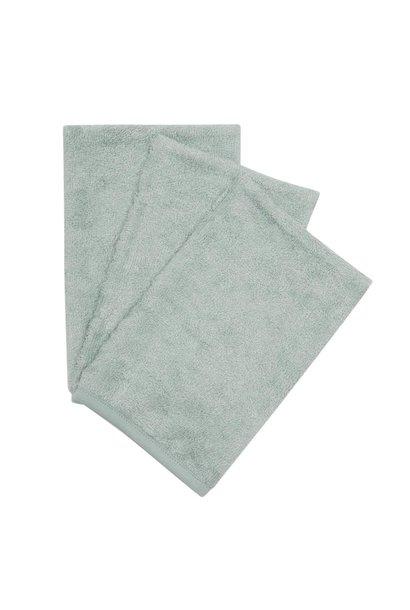 Washcloths per 3  Sea blue