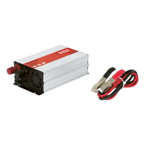 Carpoint Carpoint Omvormer 12V>230V 600W accuklemmen Frans/Belgisch stopcontact