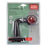 Carpoint Carpoint LED Breedtelicht Links 90° Rood/Wit 136mm