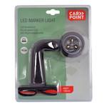 Carpoint Carpoint LED Breedtelicht Rechts 90° Rood/Wit 136mm