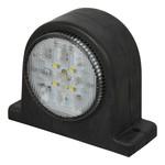 Carpoint Carpoint LED Breedtelicht Links Rood/Wit 67mm