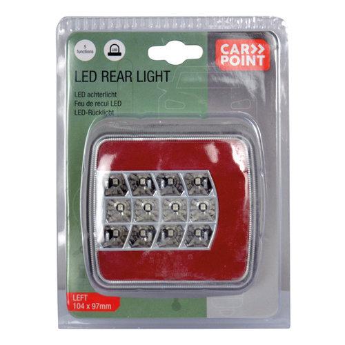 Carpoint Carpoint LED Achterlicht Links 5 Functies