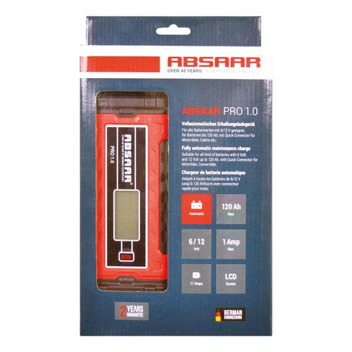 Absaar ABSAAR Smartlader PRO1.0 1A 6/12V